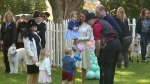 Prince George, Princess Charlotte of Cambridge enjoy balloons, animal rides in Victoria, B.C.